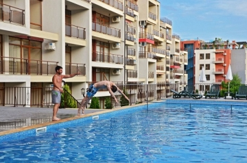 Luxirious complex offers you sea view apartments in St.Vlas