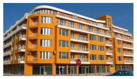 The apartment is on the first line in Pomorie.
