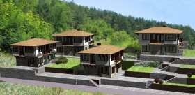 Real estate in Bulgaria - houses with a view of the mountains