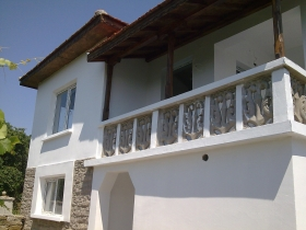 A two-storey house in Bulgaria