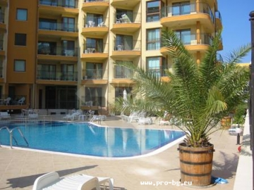 Real estate in Bulgaria - two bedroom apartment on the sea