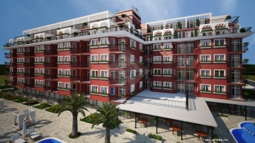Complex under constructruction - to buy cheap apartmnet in Bulgaria