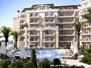 Ipanema Beach - elite sea apartmnets on the front line in Bulgaria