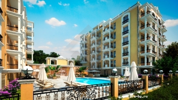Apartments in Bulgaria near the sea in Saint Vlas